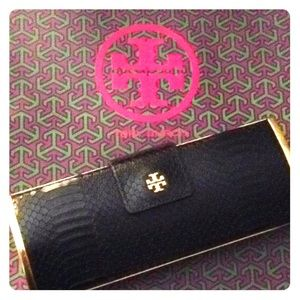 TB Snake Roll Clutch (as Seen on Pippa Middleton)